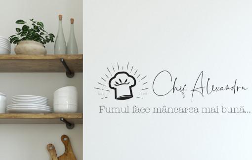 Master Chef - sticker decorativ
