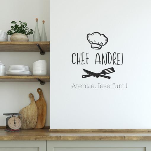 Bucătarul casei - sticker decorativ