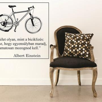 Bicikli egyensúlyban