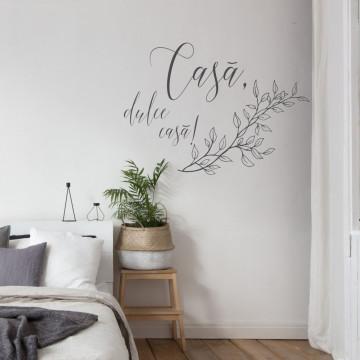 Casa, dulce casa! 90cm x 60cm Portocaliu rosiatic