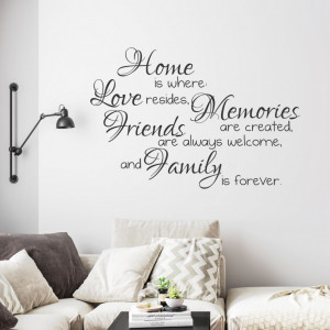 Home, Family and Friends