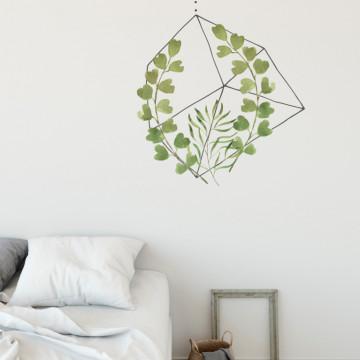 Natura in colivie 3 - sticker decorativ