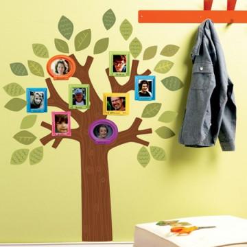 Sticker Fun Family Tree