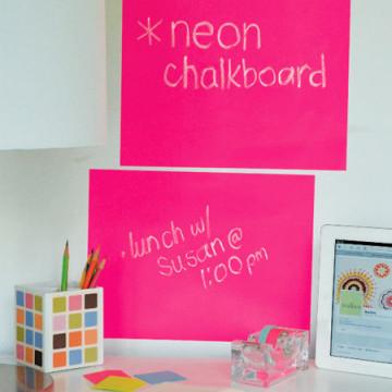Tabla de scris Neon Pink