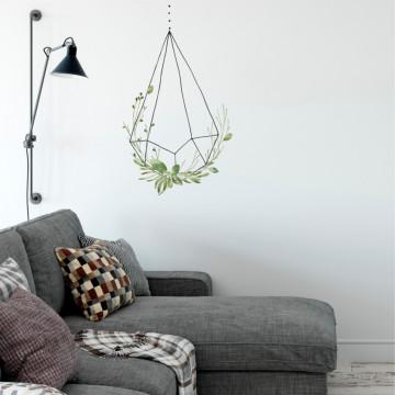 Natura in colivie 4 - sticker decorativ