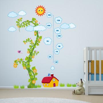 Sticker Nursery Magic Bean Grow Chart