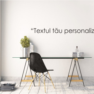 Sticker text personalizat