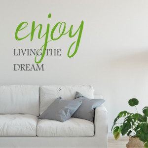 Enjoy living the dream!
