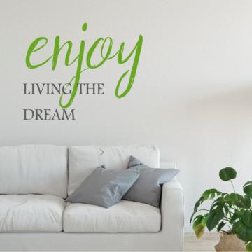 Enjoy living the dream!