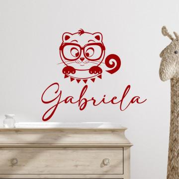 Nume festiv pentru copii - sticker decorativ