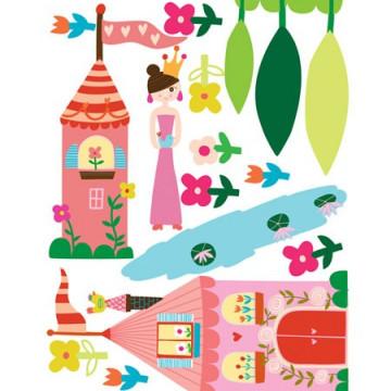 Princess Sticker Centimetru