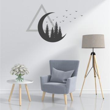 Triunghiul cerului - sticker decorativ