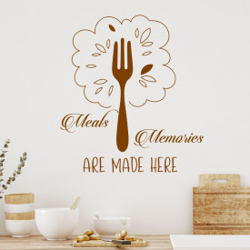 Sticker decorativ - Meals and Memories