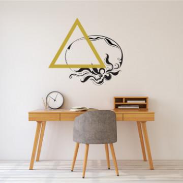 Triunghiul apei - sticker decorativ