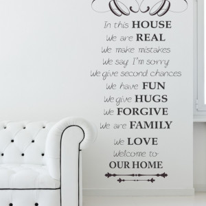 Welcome to our home...