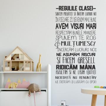 Regulile clasei noastre