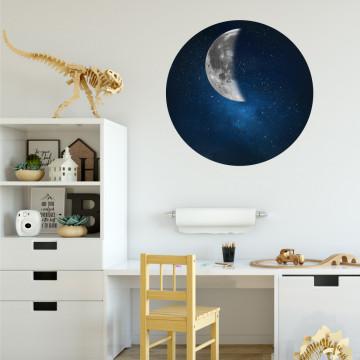 Semiluna - sticker decorativ