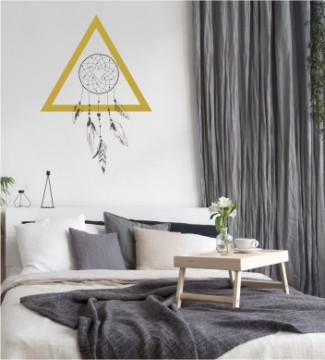 Triunghiul Karma - sticker decorativ