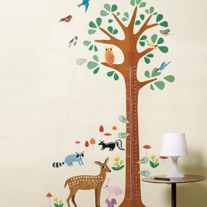 Poze Woodland Sticker Centimetru