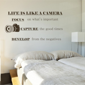 Poze Life is like a camera