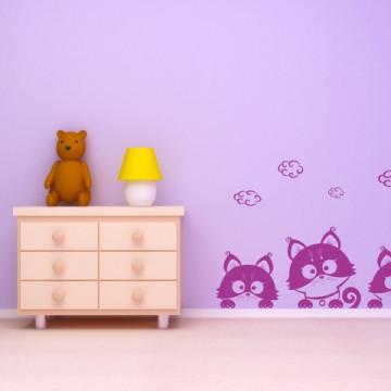 Pisici orizontale