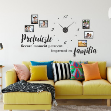 Pretuieste familia- sticker decorativ