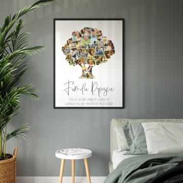 Tablou personalizat - Familie 22 poze