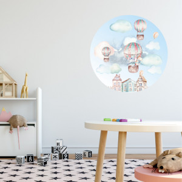 Veselie in balon! - sticker decorativ