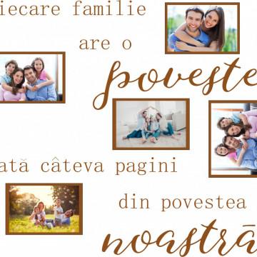 Fiecare familie are o poveste