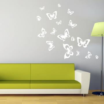 Fluturi in zbor