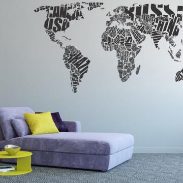Harta lumii 3D