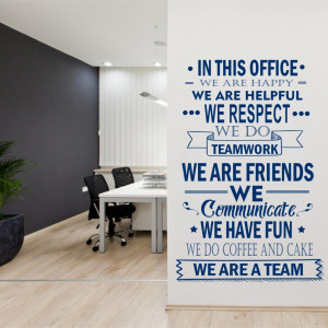 In this Office