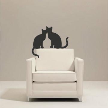 Pisici indragostite