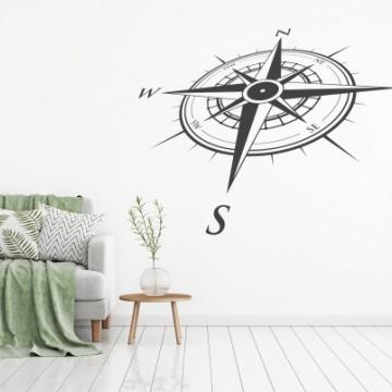 Coordonate- sticker decorativ
