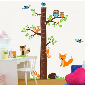 Fox Tree Height Measure