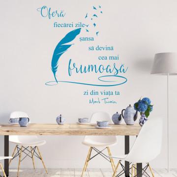 Frumusetea fiecarei zile bleu 120x130cm