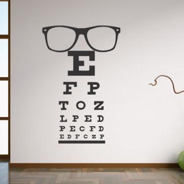Sticker decorativ - Control oftalmologic