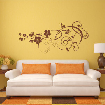 """Sticker perete """"Liana cu flori"""""""