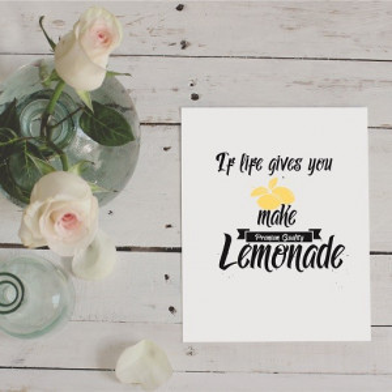 Tablou Lemonade