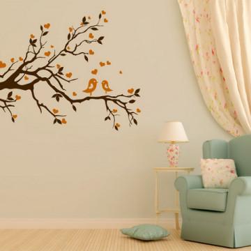 Creanga de copac - autocolant de perete