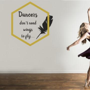 Dancers - sticker decorativ