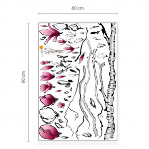 Poze Sticker Huge Magnolia Flowers