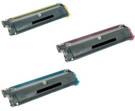 Poze Toner Value pack (C, M, Y) Magicolor 2400W /2430DL /2450 /2480MF, Magicolor 2500W/2530DL/2550/2490MF