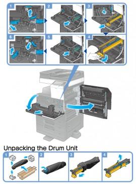 Poze Drum unit / Cilindru Bizhub 227 / 287 / 367, DR-312K