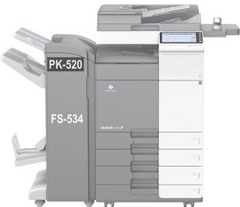 Poze PK-520 Perforator pentru Finiserul FS-534 Bizhub C224 / C284 / C364 / C454 / C554