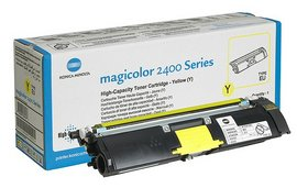 Poze Yellow toner cartridge Magicolor 2400W/2480MF/2500W/2550