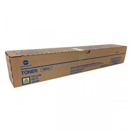 Poze Toner Bizhub C458/C558/C658 Yellow TN514Y