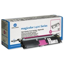 Magenta toner cartridge Magicolor 2400W/2480MF/2500W/2550