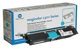 Poze Cyan toner cartridge Magicolor 2400W/2480MF/2500W/2550
