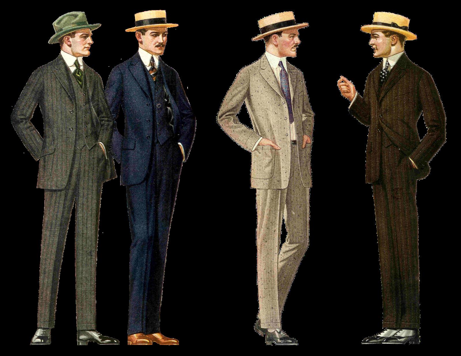 Vintage masculin
